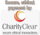 Charity Clear card processing logo