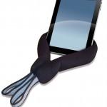 Trabasack Media Mount holding an iPad upright