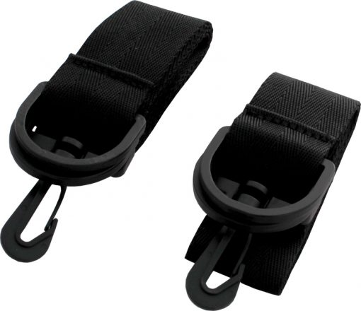 Image of side straps for Trabasack bag, folded and compact in size