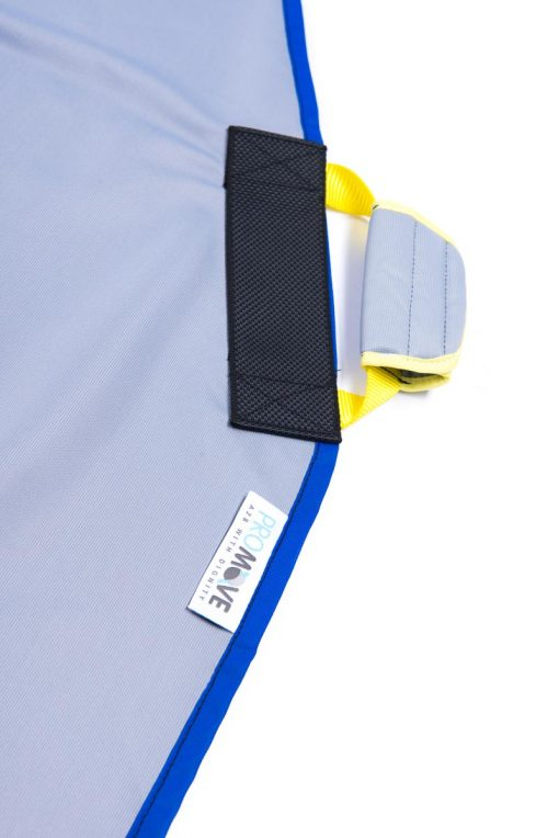 Image shows close-up of a padded carry handle on the ProMove Adult Sling