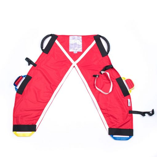 Image shows the ProMove sling for ages 8-14 years, lay flat on a white surface