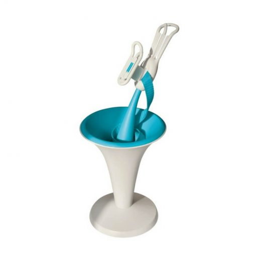 Image is a photograph of the BraBuddy stood upright on white background